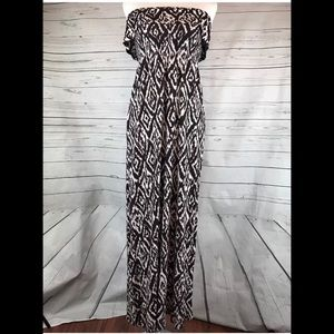 Forever 21 Womens S 4/6 Maxi Dress Summer straples